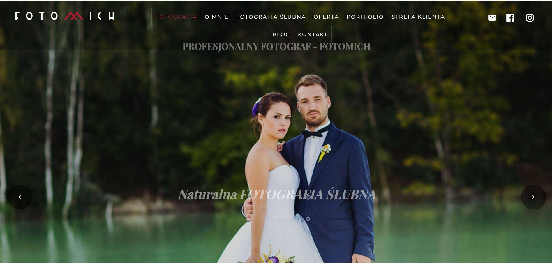 Branża ślubna teksty na stronę